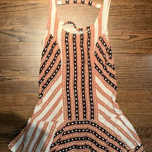 Free People Mini Aztec Dress